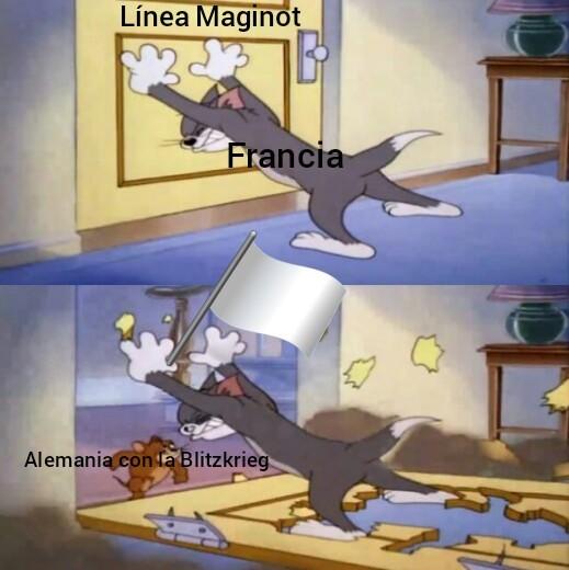 Y se rindió - meme