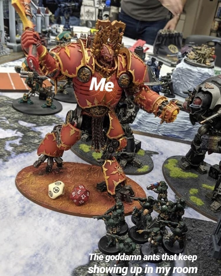 Skulls for the Emperor, Blood for The Golden Throne - meme