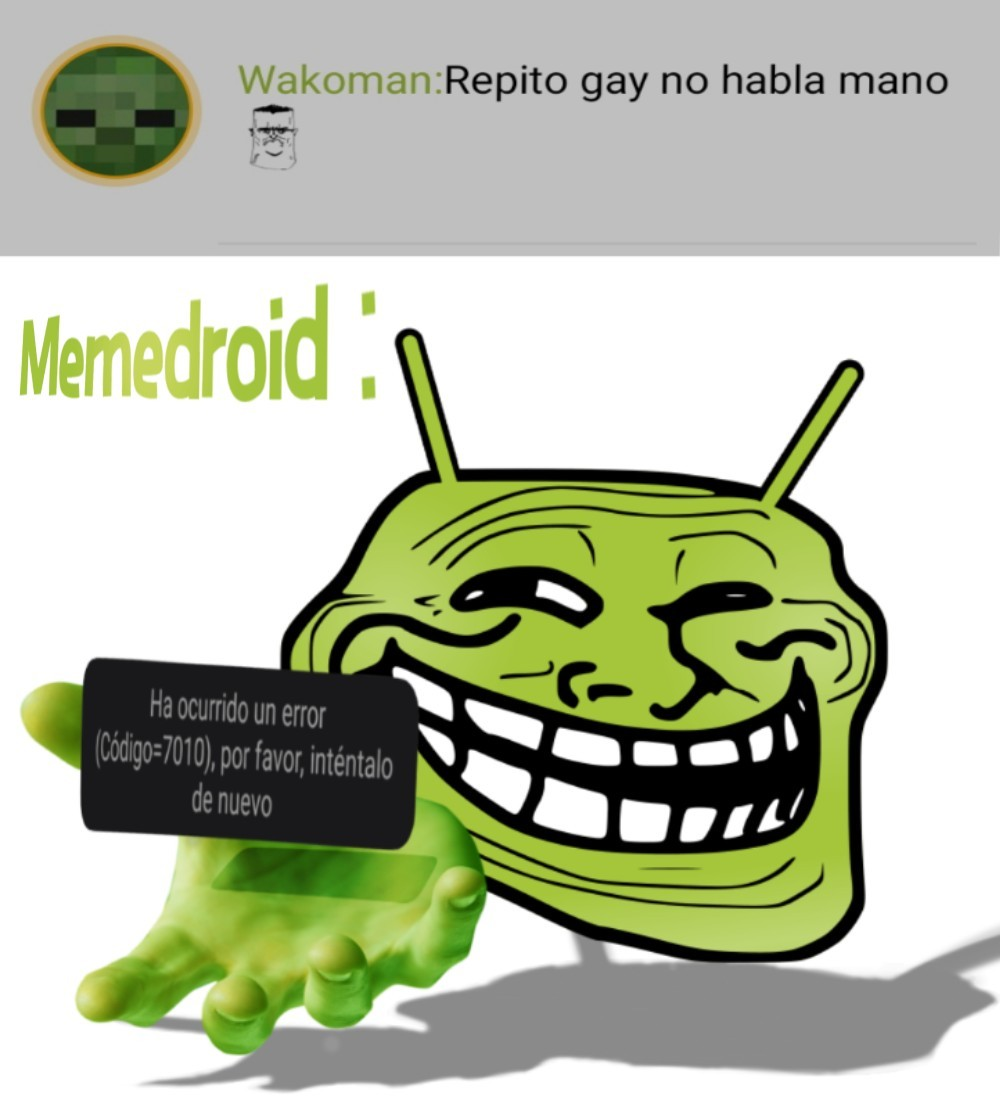Gracias por el softban memedroid :)