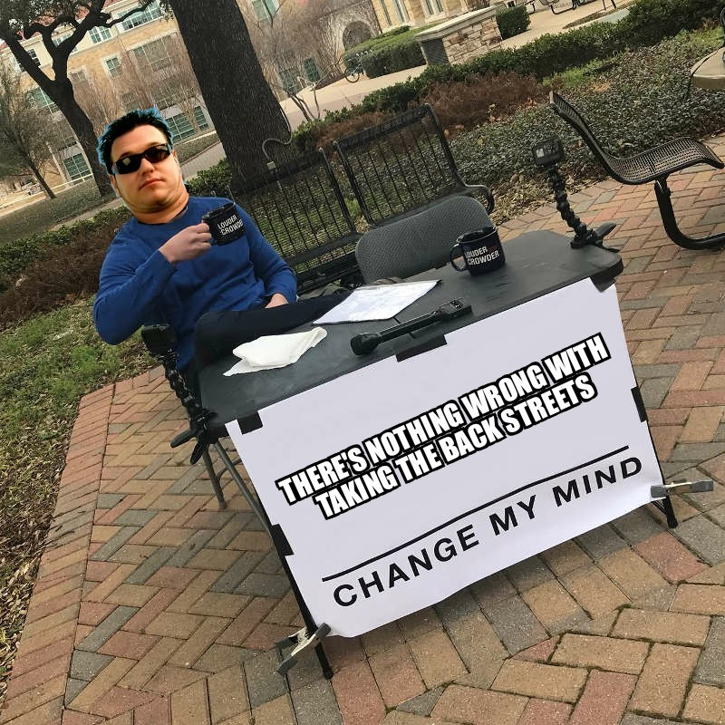 Smash Mouth Change My Mind - meme