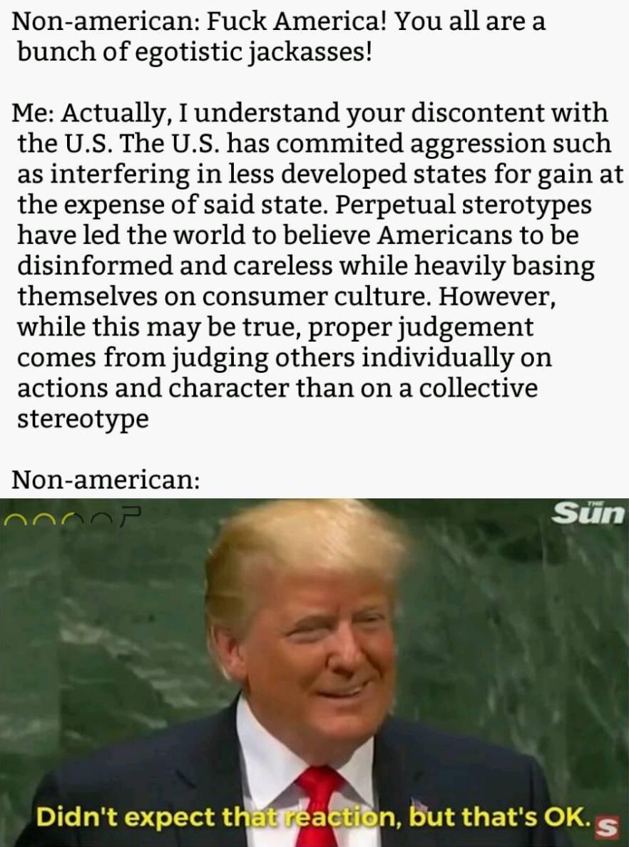 Cue amerika - meme
