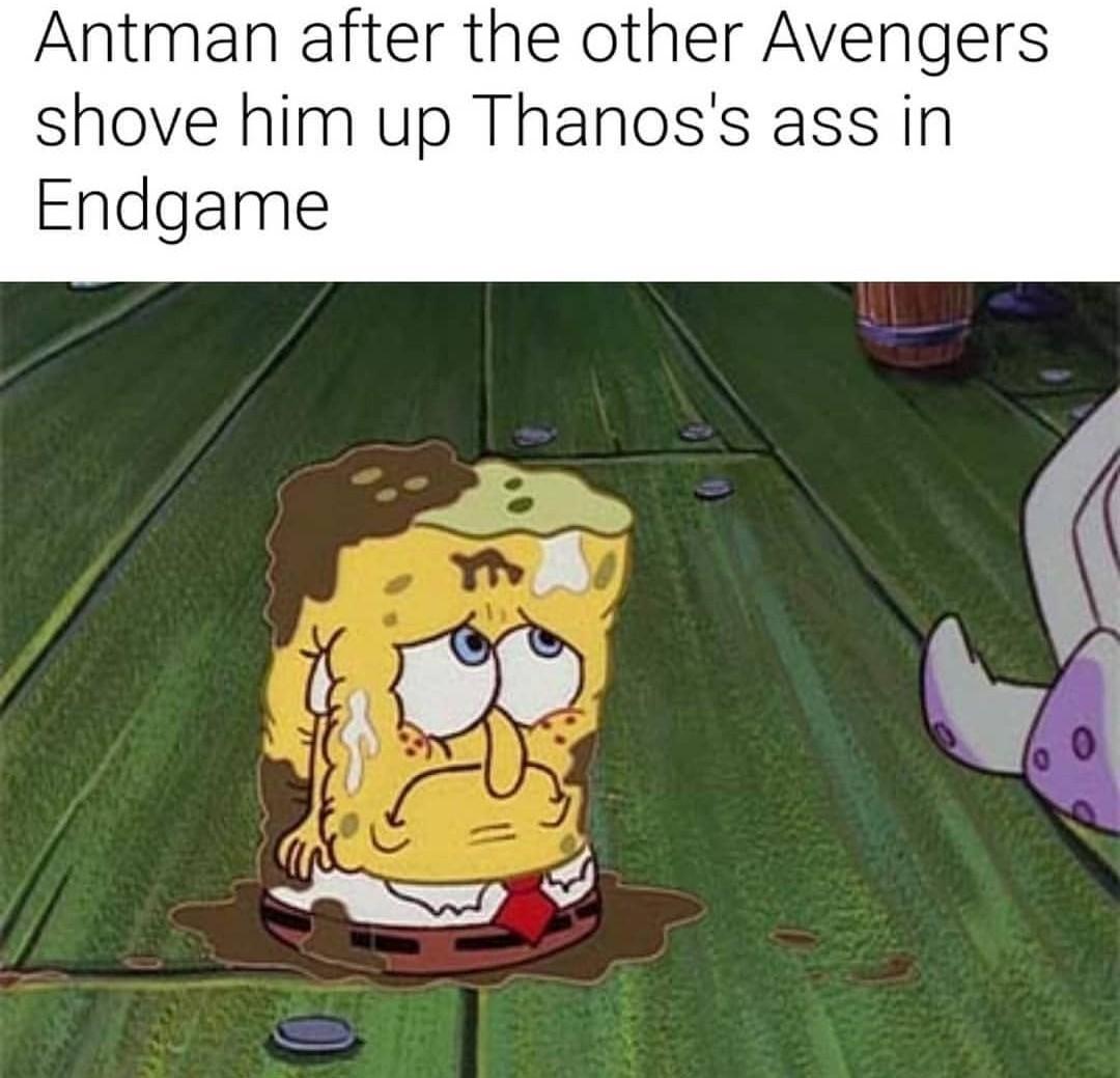 RIP ANTMAN - meme