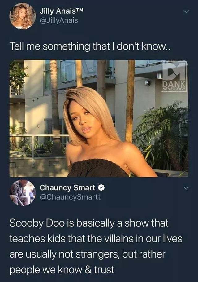 The truth about Scooby Doo - meme