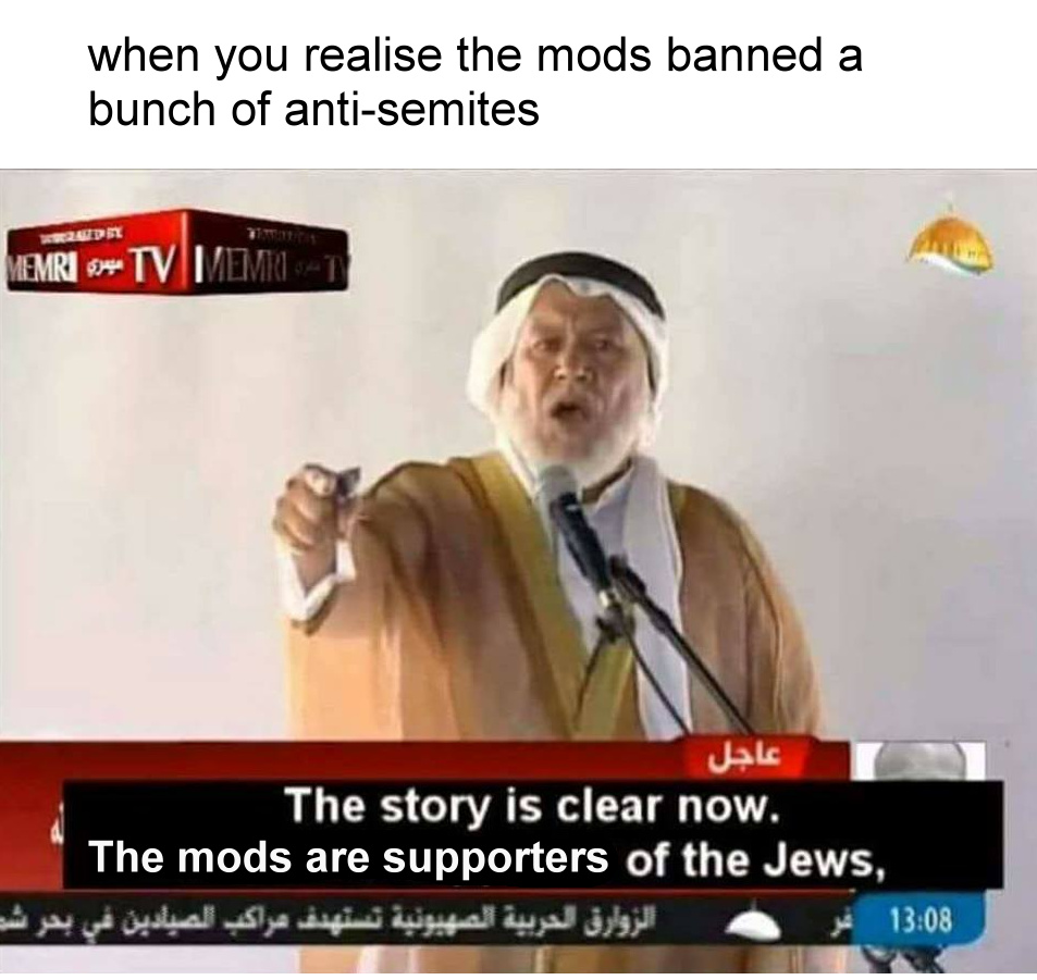 Mods I am sorry - meme