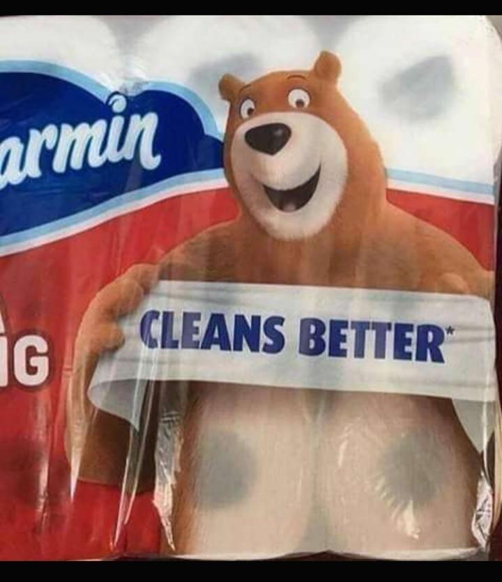 Algo no me cuadra desde cuándo los osos venden papel ._. - meme