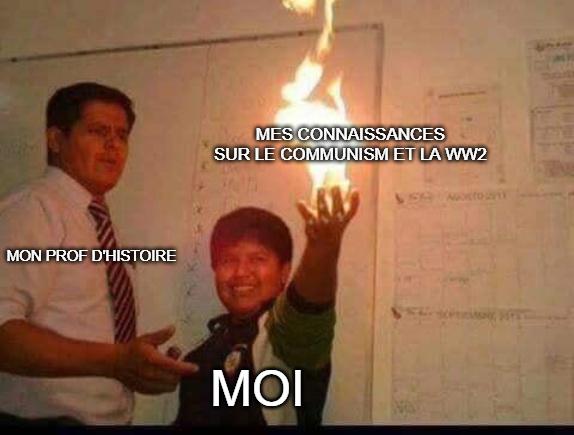 connaissances - meme