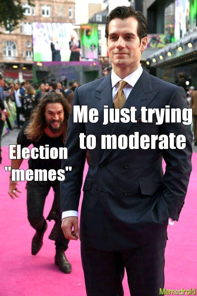 Seriously, I will keep downvoting all political bullshit. - meme