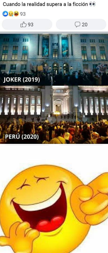 Peru siempre será motivo de burla - meme