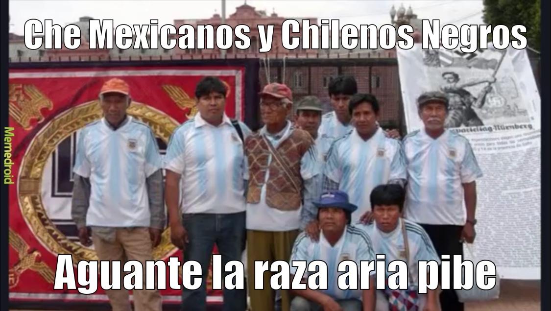 Argentinos Promedio - meme
