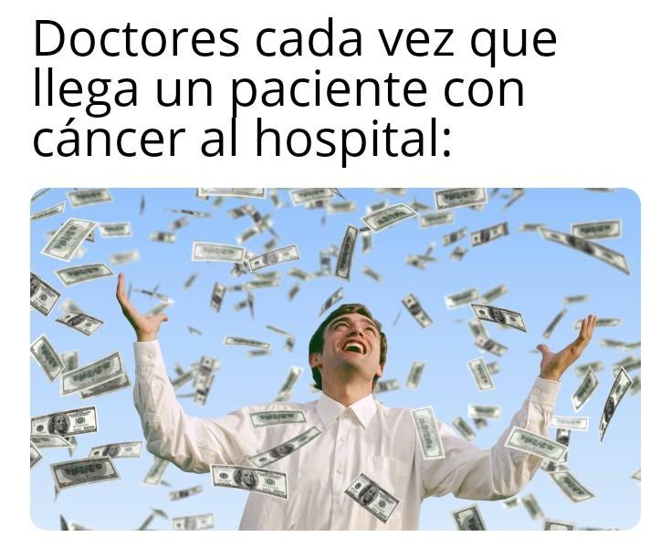 Sus medicamentos costosos de mierda - meme