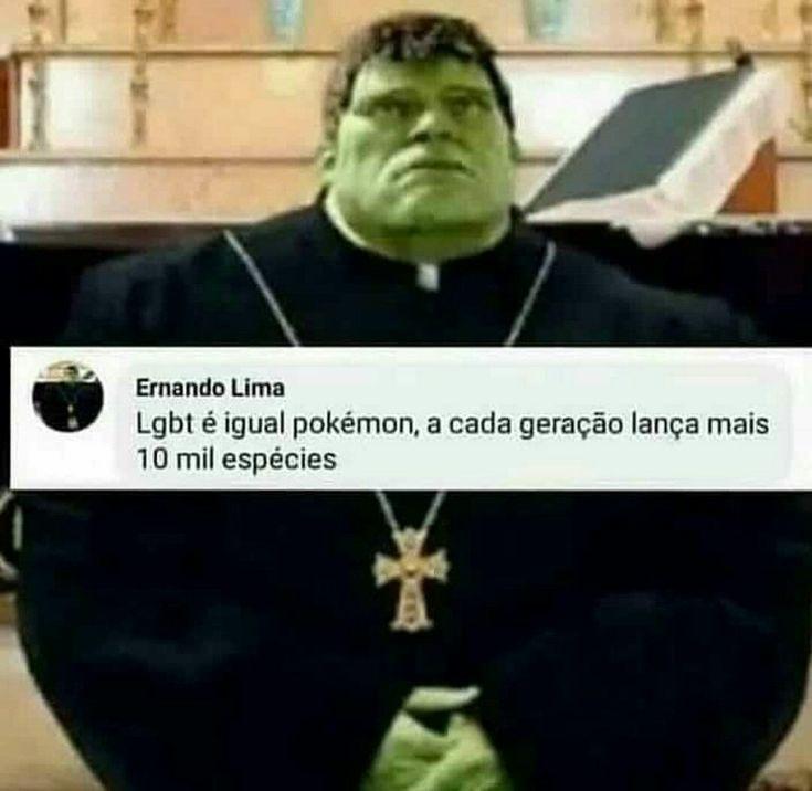 Hulk crente :really: - meme