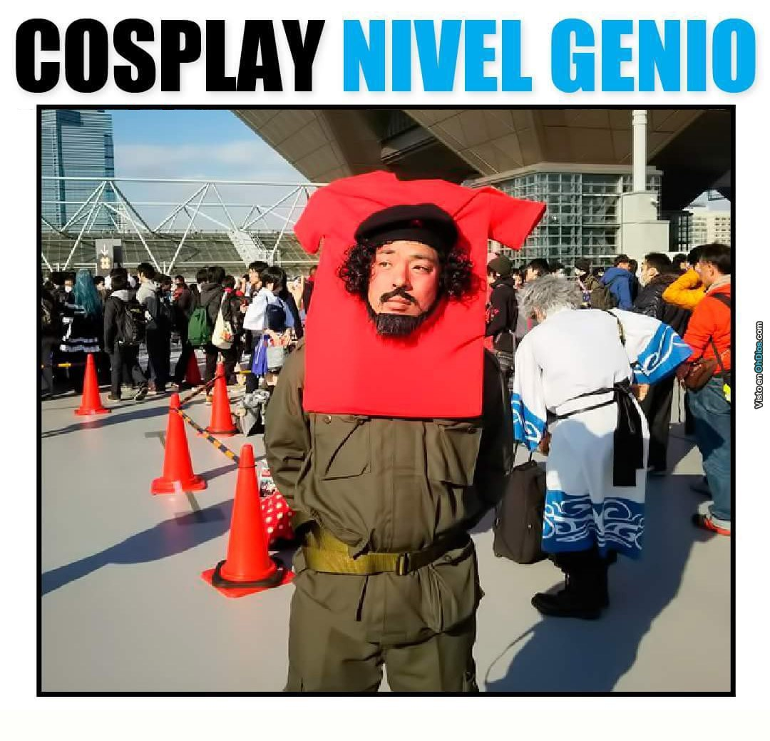 when no one gets your cosplay