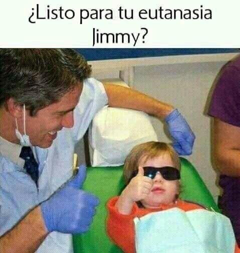 Jimmy el crack - meme