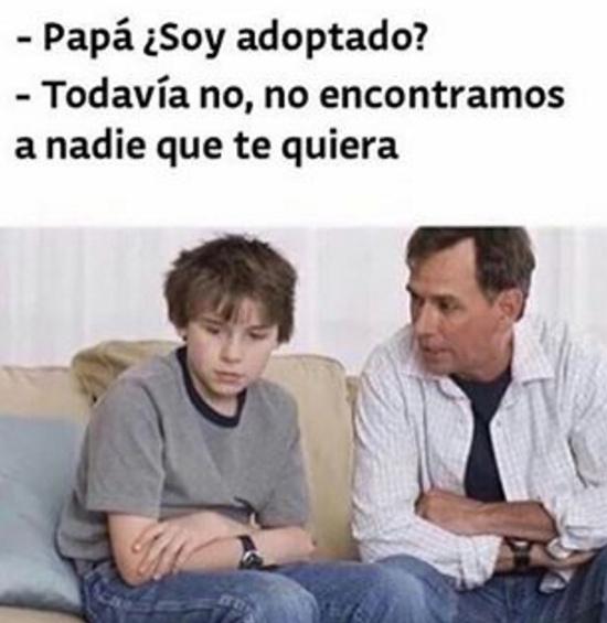 Padres vergas - meme