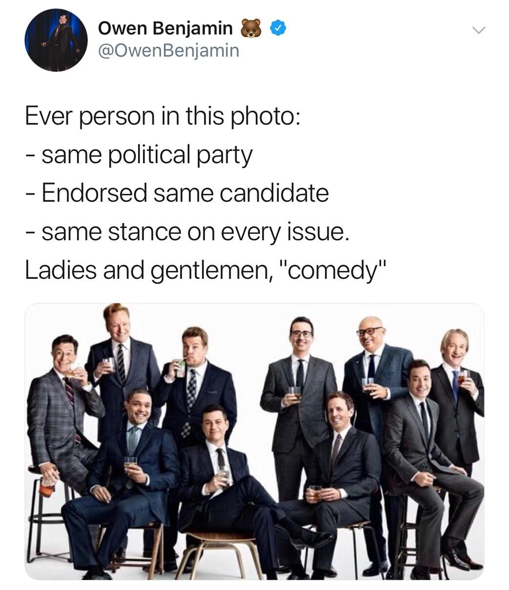 I love Owen Benjamin - meme