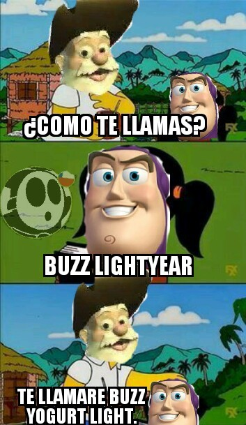 Buzz Yogurt Light - meme