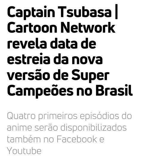 """Os 4 episodios já  estão no canal do youtube """"cartoon network brasil"""" - meme"""