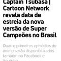 """Os 4 episodios já  estão no canal do youtube """"cartoon network brasil"""""""