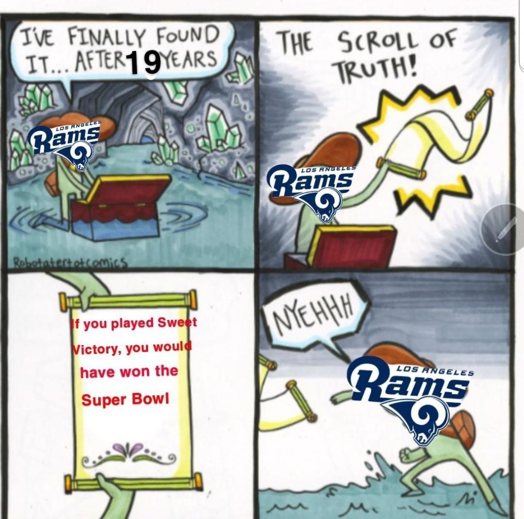 Rip RAMS - meme