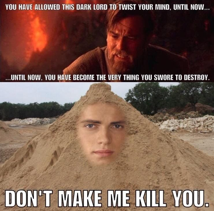 Prequel memes = priceless