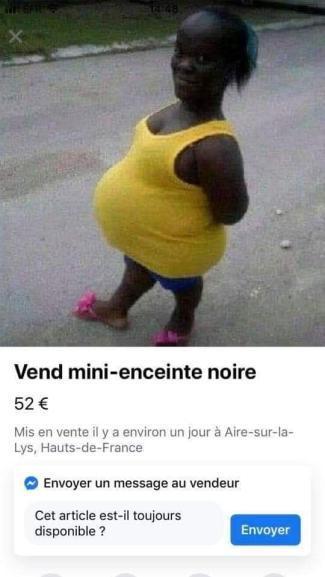 Mini enceinte noire - meme