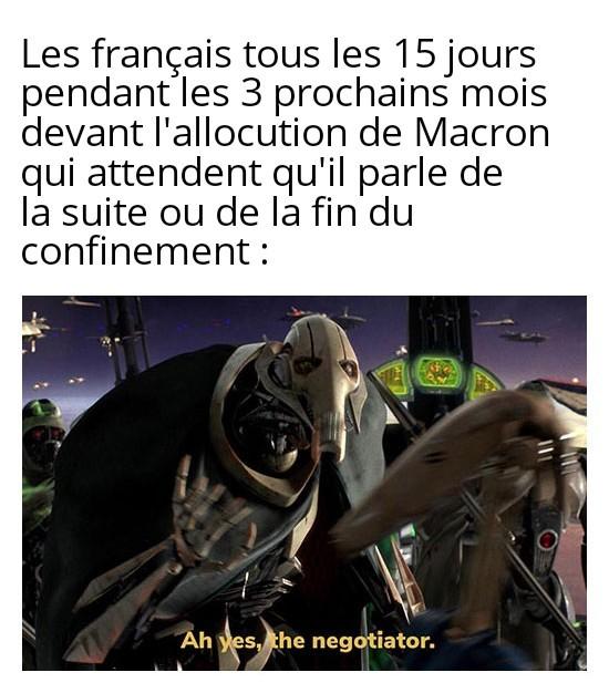 Rude négociation - meme