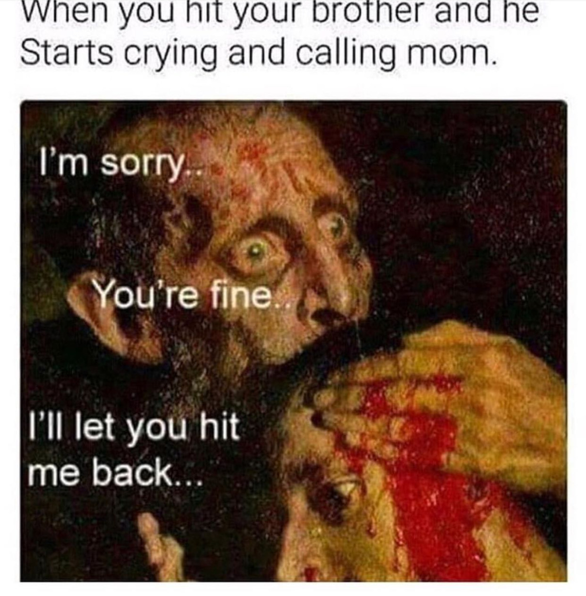 i would always have a panic attack - meme