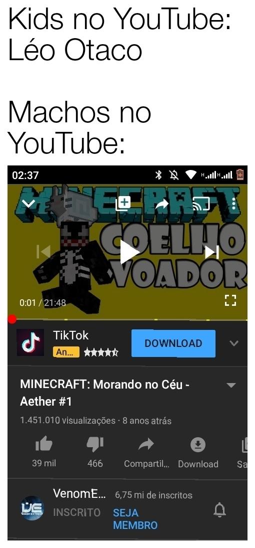 Léo odacu é um lixo (meme 100% original dá uma pegadinha aqui no meu pau)