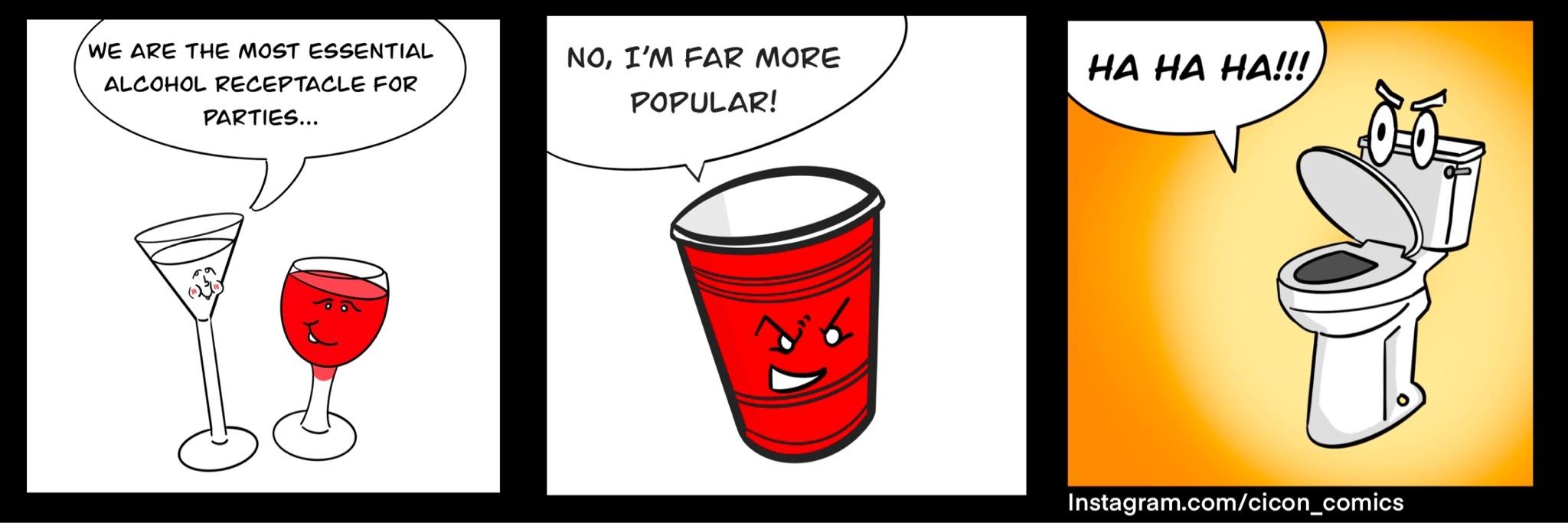 drinking is fun? - meme