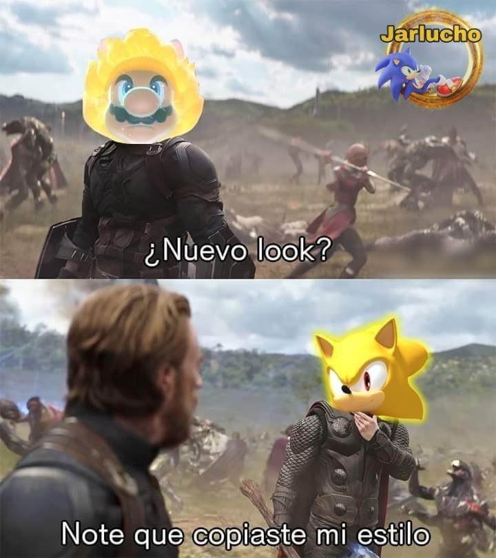 ¿Vieron el nuevo Mario? - meme