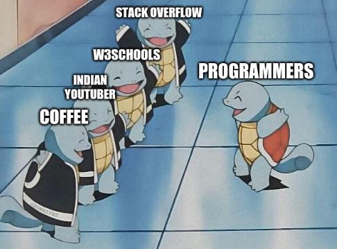 Programmer's Motives - meme