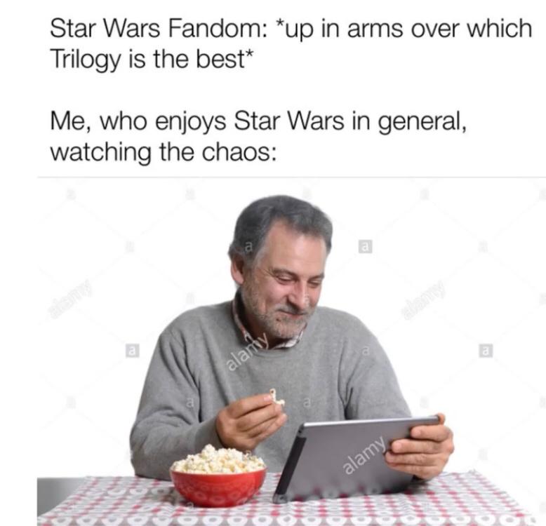 Star wars is the best - meme
