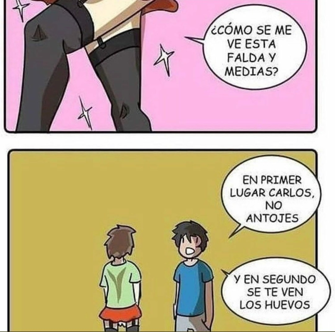 No antojes, Carlos. - meme