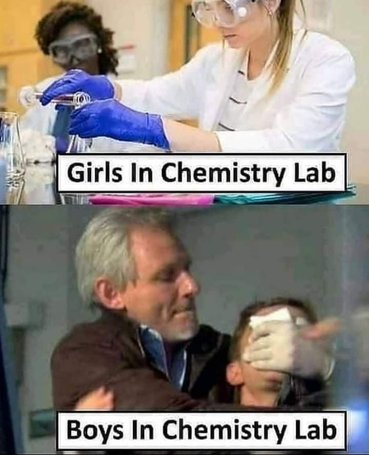 chemistry lab - meme
