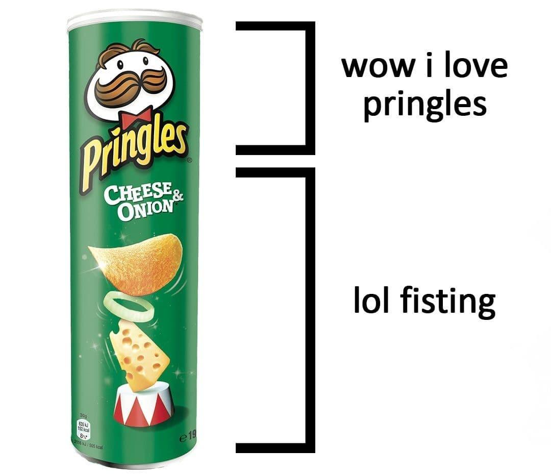 pringle the dingle - meme