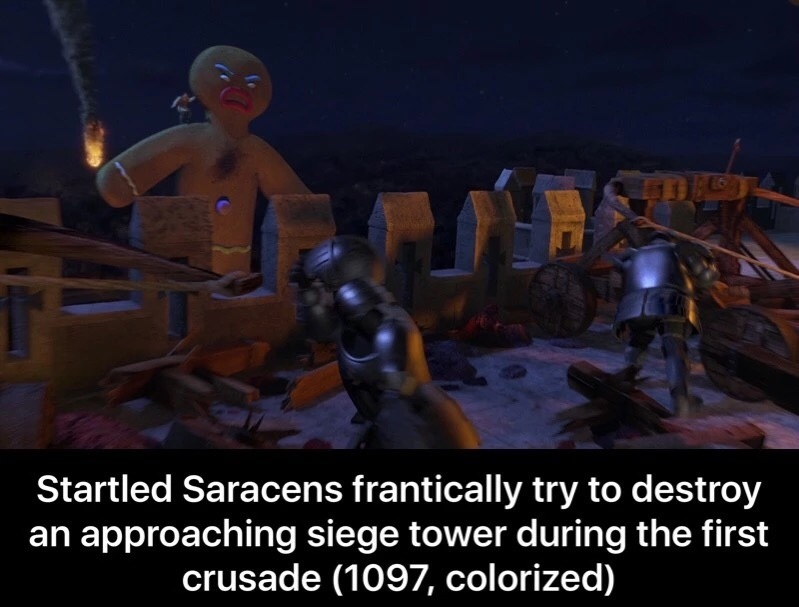 Haha, Startled Saracens - meme