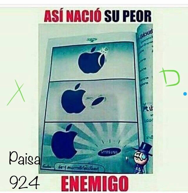 pobre Apple - meme