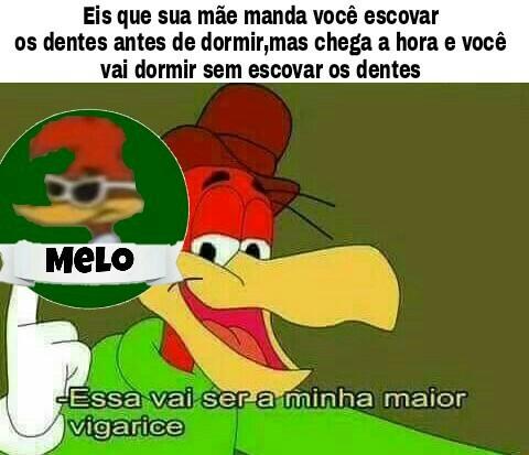 Selo de qualidade Melo - meme