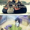 Yeah, friends...