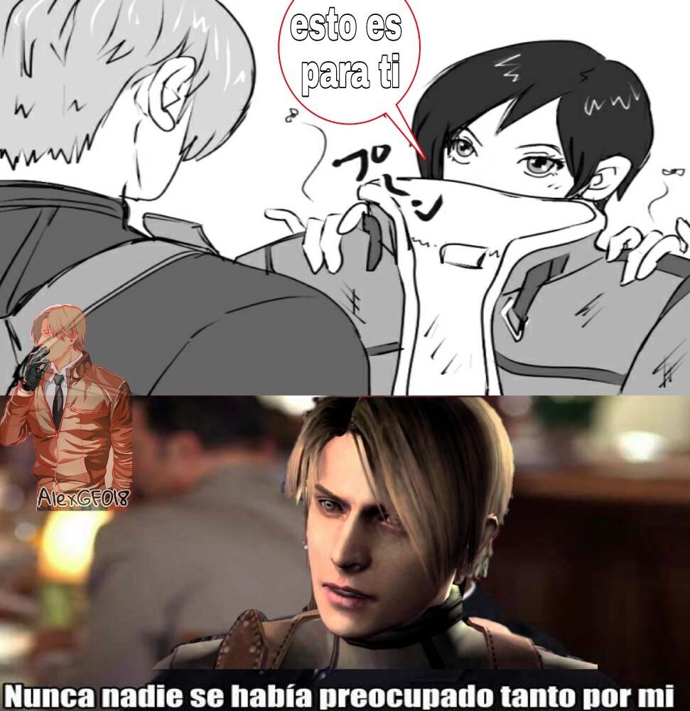 Leon y Ada - meme
