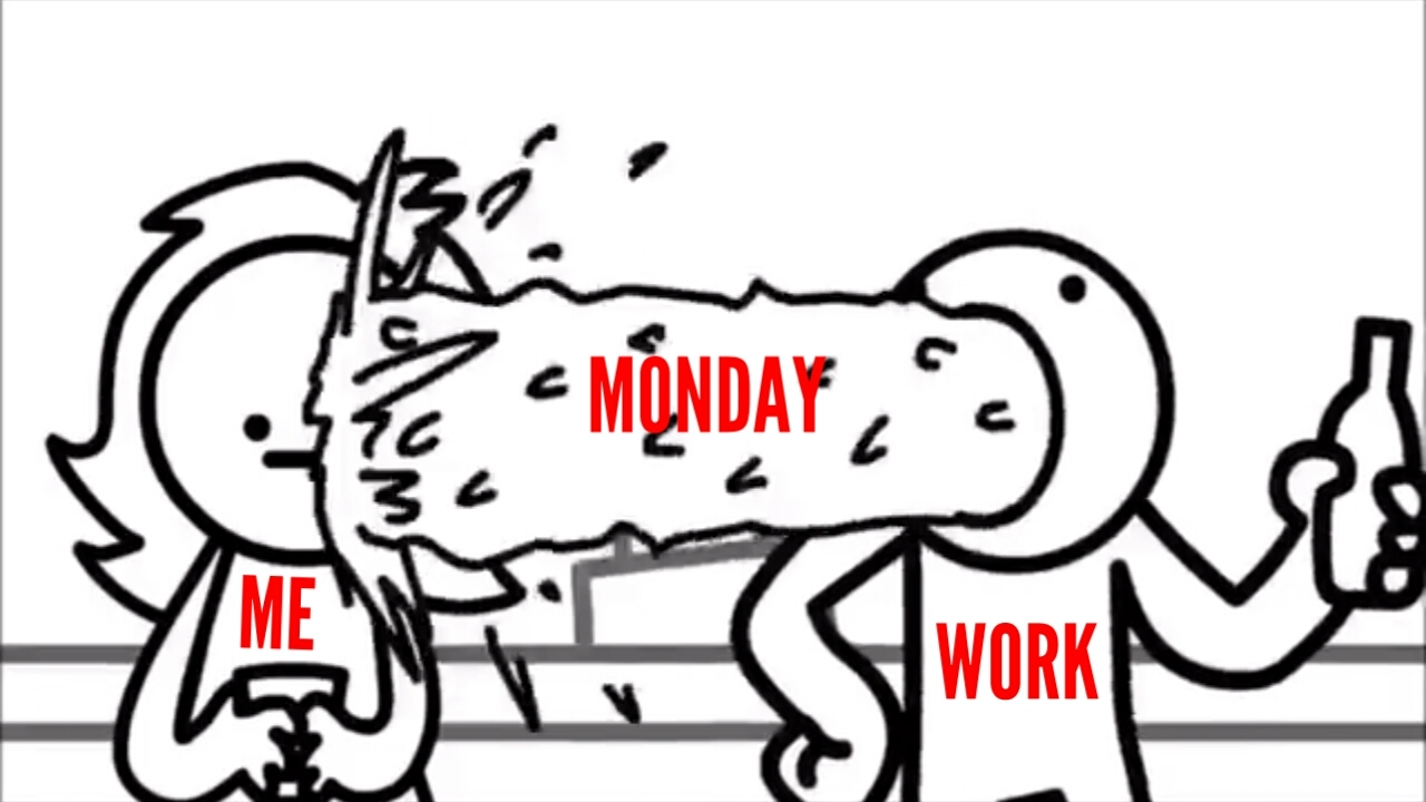 Fuck monday - meme