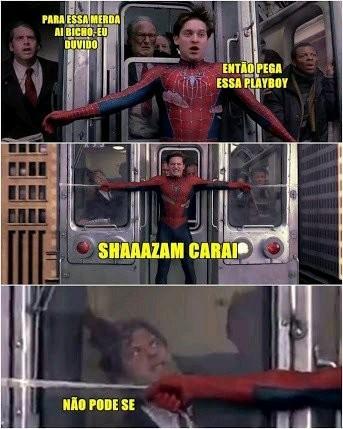 SHAZAM CAROLHO 2 - meme