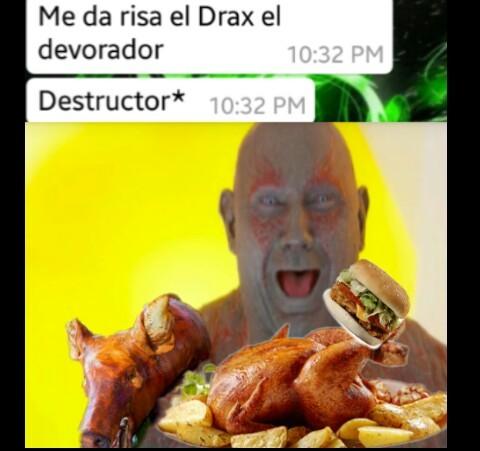 Una wea fome - meme