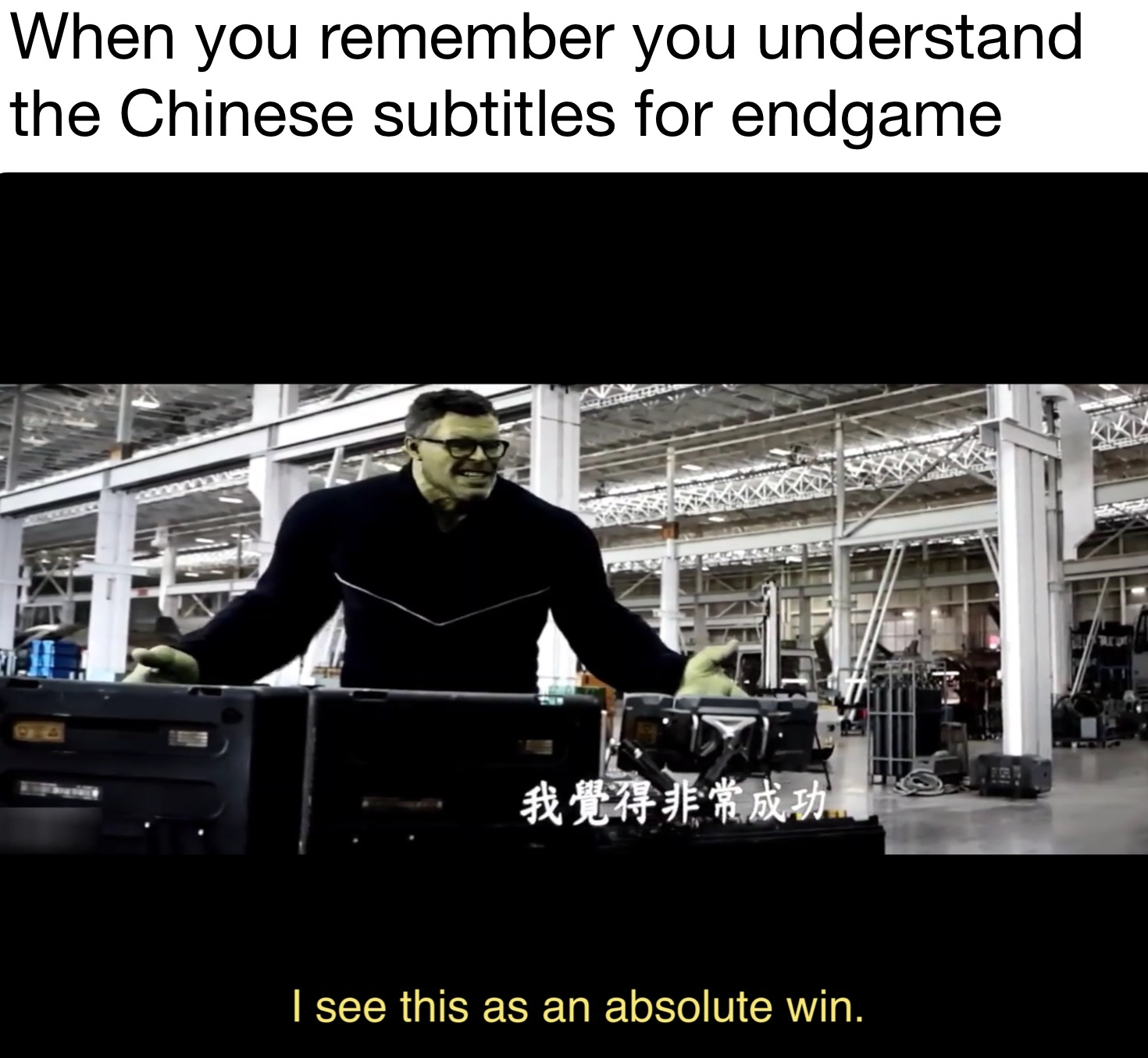 Chinese Subtitles - meme