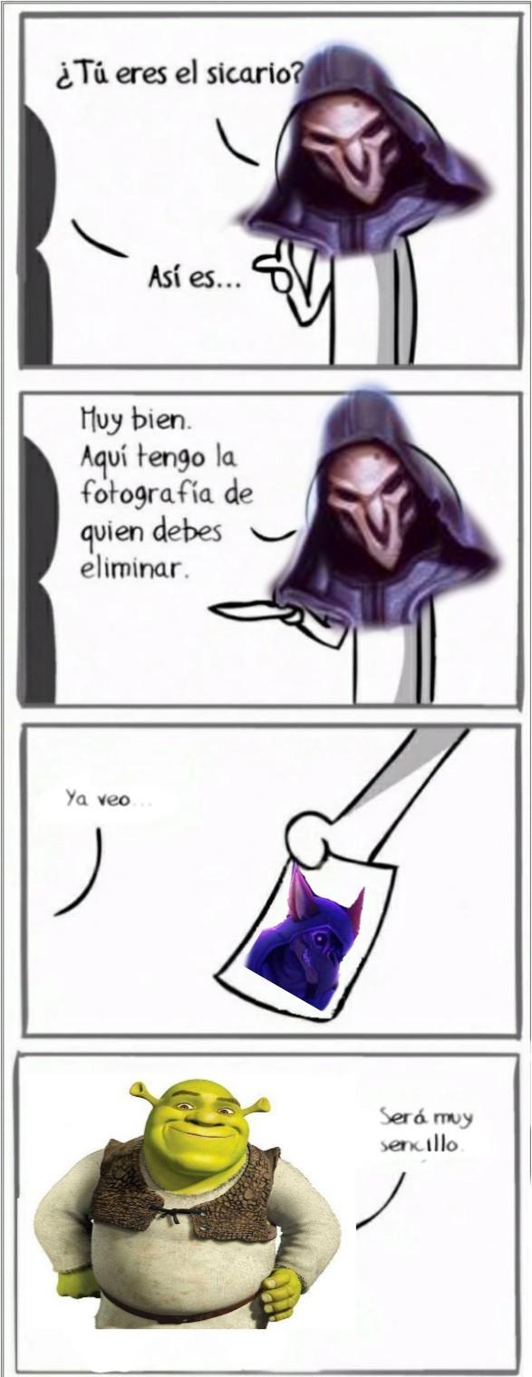 Hicieron furro a Reaper - meme