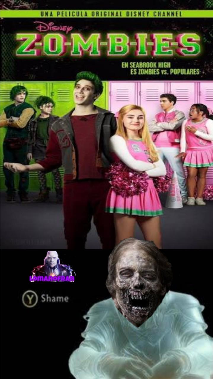 Pobres Zombies de WWZ y TWD - meme
