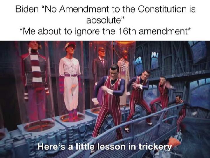 Income Tax Amendment - meme