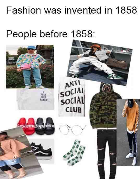 Streetwear - meme