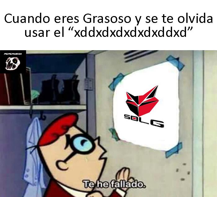Típico Grasoso - meme