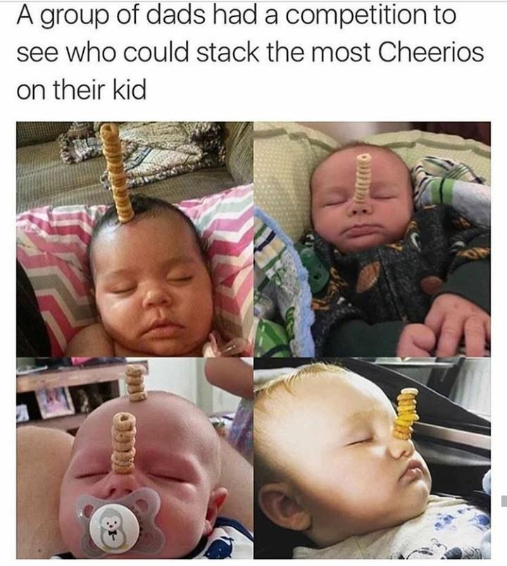 Cherrios babies - meme